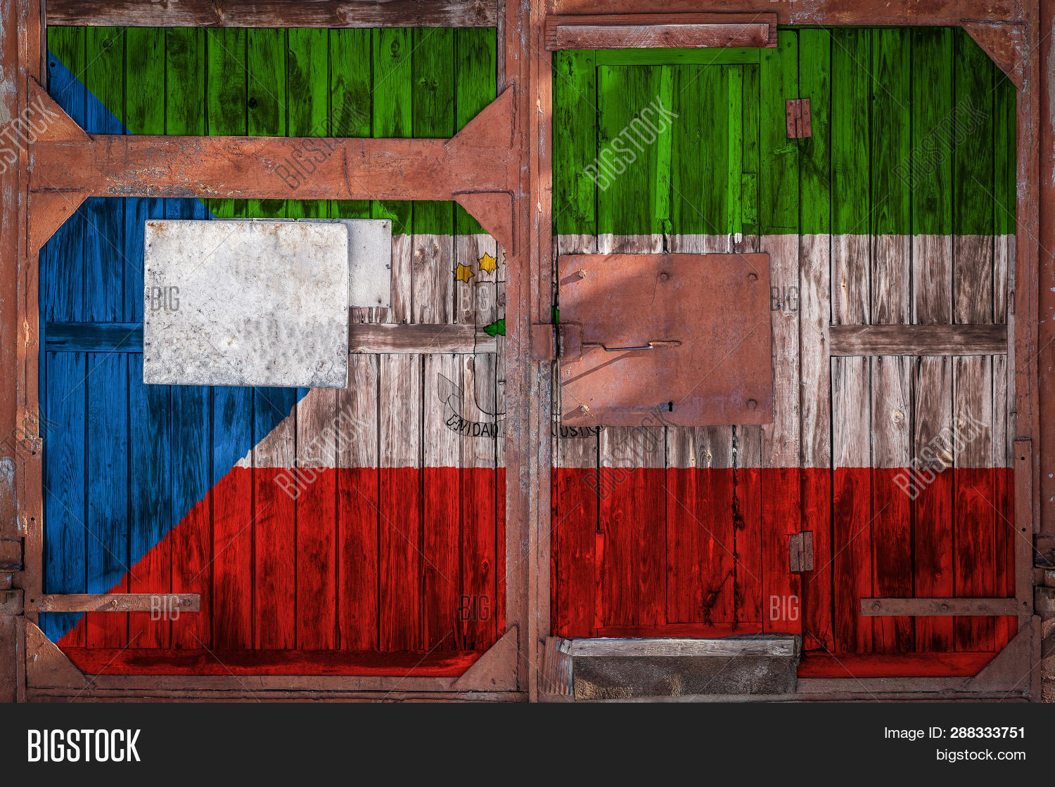 Close Old Warehouse Image Photo Free Trial Bigstock