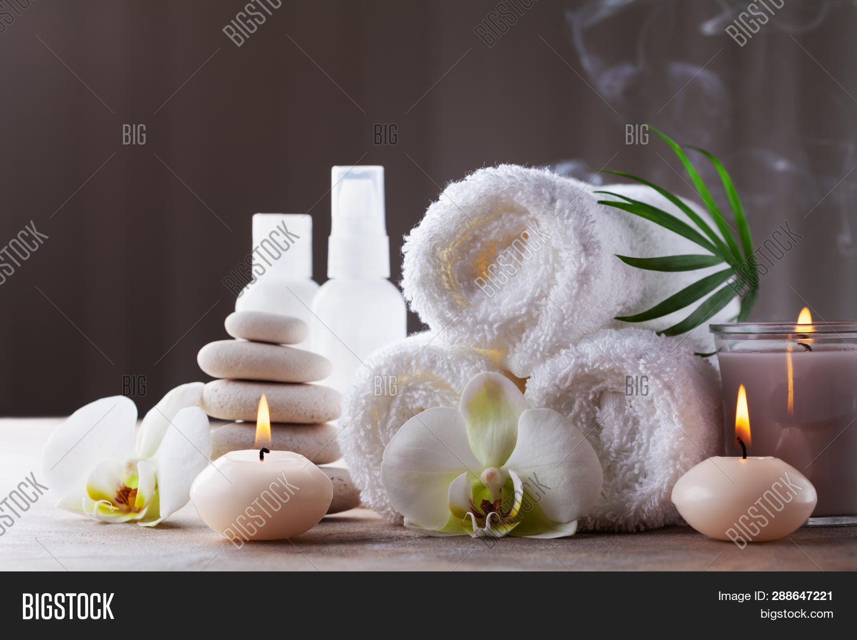 Aromatherapy Spa Image Photo Free Trial Bigstock