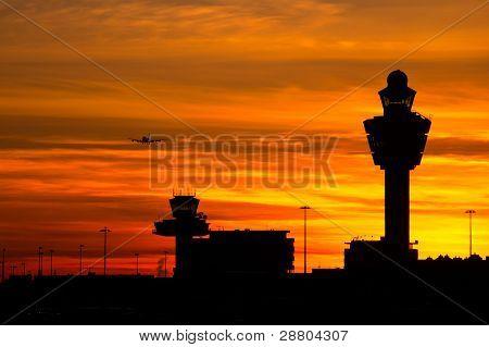 Schiphol Sunset