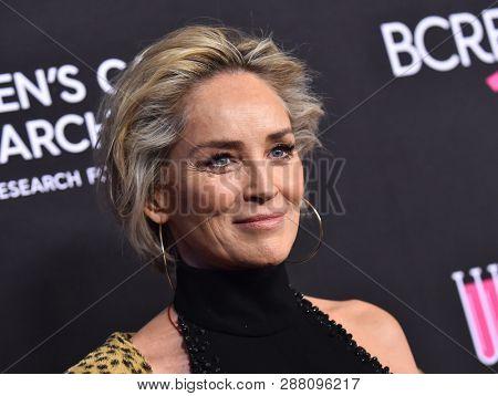 LOS ANGELES - FEB 28:  Sharon Stone arrives to