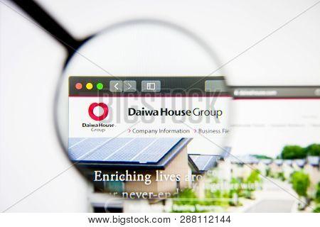 Los Angeles, California, Usa - 5 March 2019: Daiwa House Industry Website Homepage. Daiwa House Indu