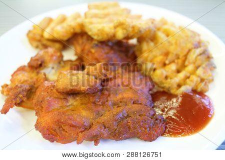 Chicken Tikka Marinated Chicken Pieces, India