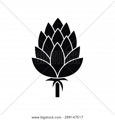 Beautiful Pinecone Isolated Icon Vector Illustration Desing