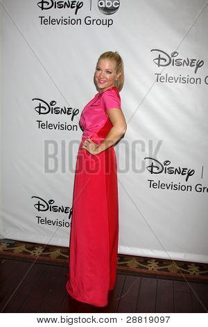 LOS ANGELES - JAN 10:  Jennifer Aspen arrives at the ABC TCA Party Winter 2012 at Langham Huntington Hotel on January 10, 2012 in Pasadena, CA