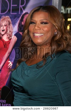 LOS ANGELES - JAN 9:  Queen Latifah arrives at the