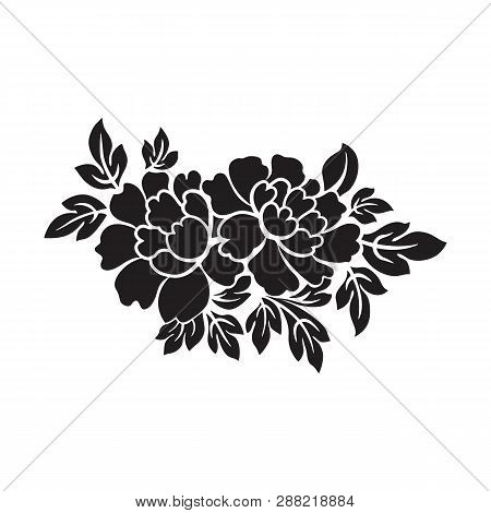 Flowers Icon Vector In Modern Flat Style For Web, Graphic And Mobile Design. Flowers Icon Vector Iso