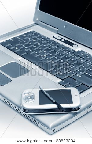 The Laptop with Pocket PC