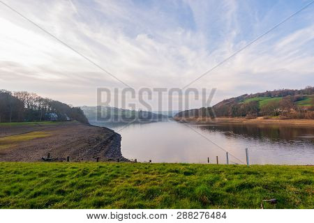 A Beautiful Spring Dat At Damflask Reservoir In The Peak District