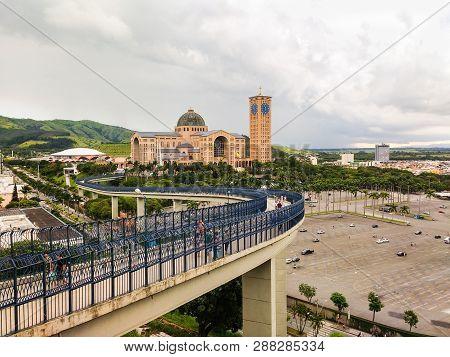 December 27, 2018, City Of Aparecida, São Paulo, Brazil, National Shrine Of Our Lady Aparecida. View