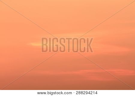 Red Sunset, Rich Dark Clouds, Rays Of Light