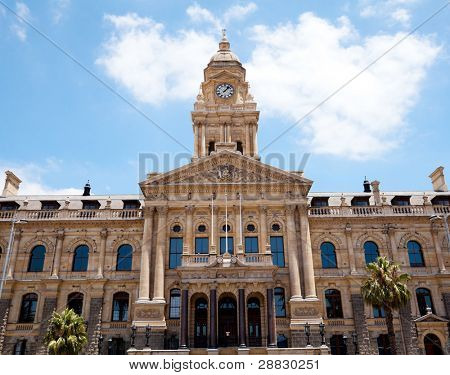 Ayuntamiento de ciudad del cabo, Sudáfrica