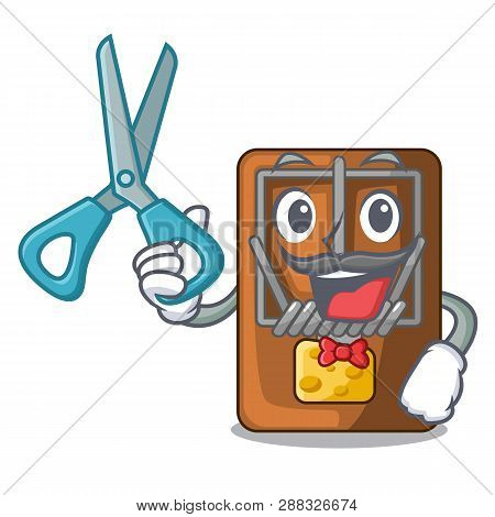 Barber Mousetrap In The A Character Shape