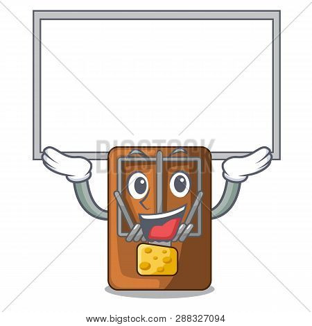Up Board Mousetrap In The A Character Shape