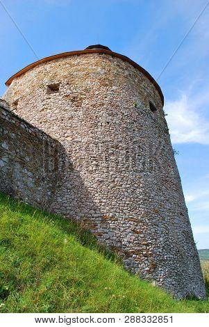 Krasnohorske Podhradie, Slovakia - September 13, 2018: The Krasna Horka Castle