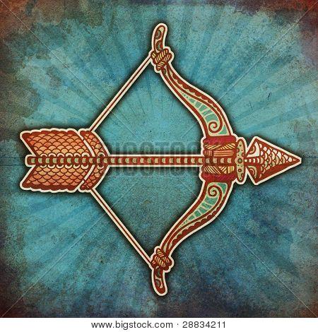 grunge zodiac - sagittarius