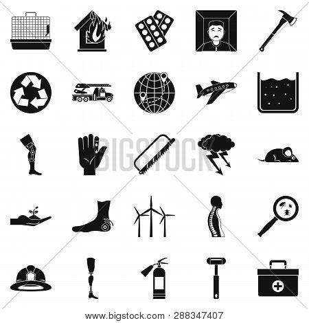 Facilitation Icons Set. Simple Set Of 25 Facilitation Icons For Web Isolated On White Background