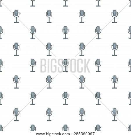 Studio Microphone Pattern Seamless Repeat For Any Web Design