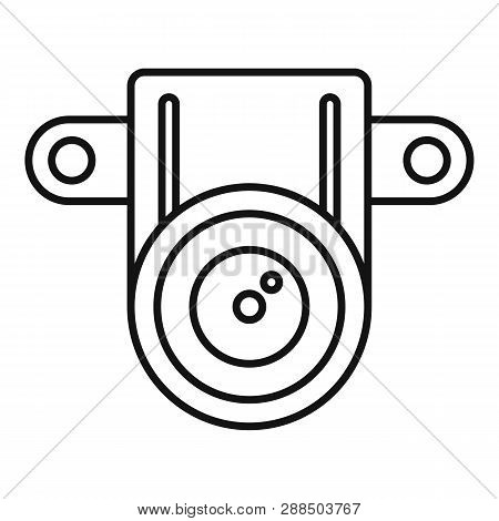 Action Small Camera Icon. Outline Action Small Camera Icon For Web Design Isolated On White Backgrou
