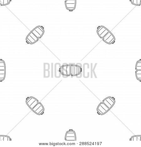 Under Water Glass Mask Pattern Seamless Repeat Geometric For Any Web Design