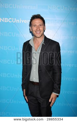 LOS ANGELES - JAN 6:  Mark Feuerstein arrives at the NBC Universal All-Star Winter TCA Party at The Athenauem on January 6, 2012 in Pasadena, CA