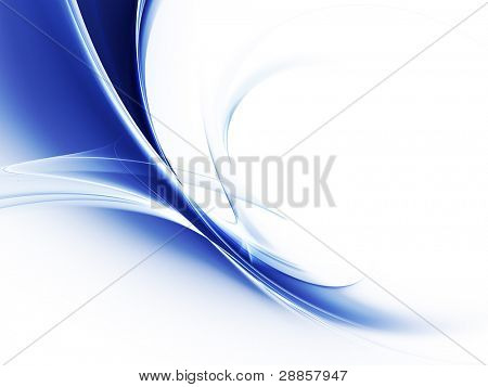 Blue shadows abstract background