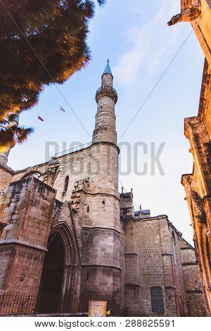 Close Up Selimiye Mosque, Camii, Designed By Mimar Sinan In 1575. Edirne, Turkey