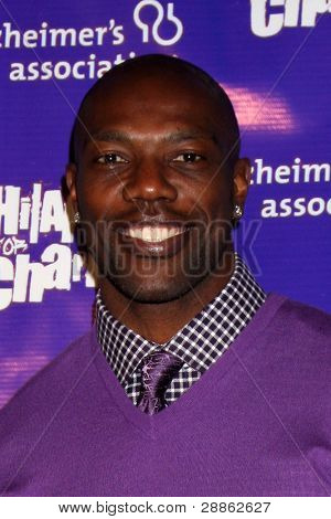 LOS ANGELES - JAN 13:  Terrell Owens arrives at  the