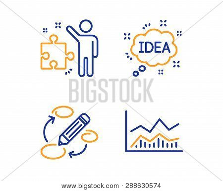 Strategy, Keywords And Idea Icons Simple Set. Trade Infochart Sign. Business Plan, Marketing Strateg