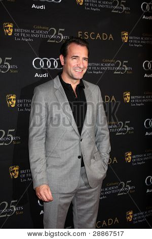 LOS ANGELES - JAN 14:  Jean Dujardin arrives at  the BAFTA Award Season Tea Party 2012 at Four Seaons Hotel on January 14, 2012 in Beverly Hills, CA