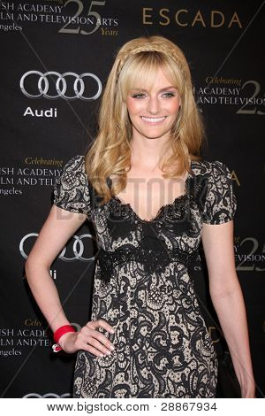 LOS ANGELES - JAN 14:  Lydia Hearst arrives at  the BAFTA Award Season Tea Party 2012 at Four Seaons Hotel on January 14, 2012 in Beverly Hills, CA