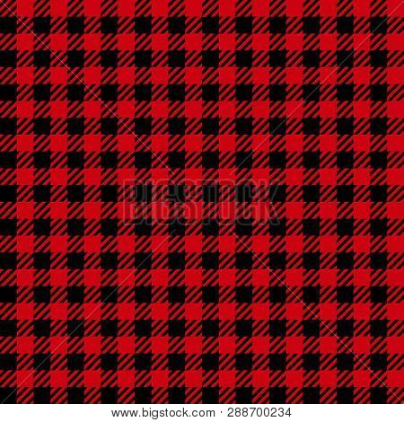 Check Fashion Seamless Pattern. Vector Vichy Repeat Background.