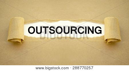 Paper Work With Outsourcing Outsource Instead Of Inhouse
