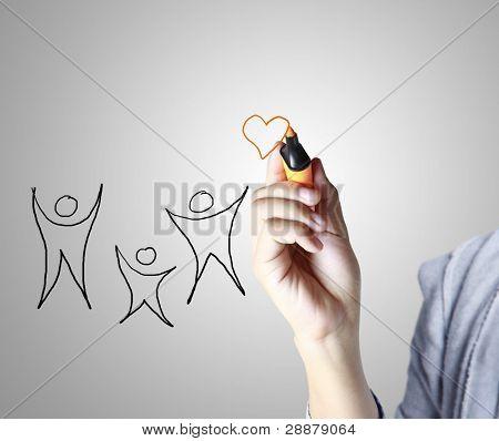 Medicine, Hand drawing