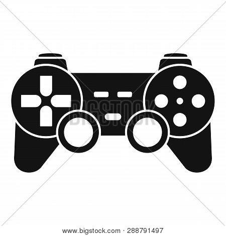 Ergonomic Joystick Icon. Simple Illustration Of Ergonomic Joystick Vector Icon For Web Design Isolat