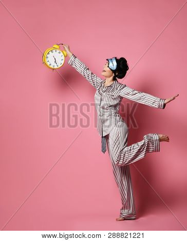 4b444927cc4 Young Woman Pajama Image & Photo (Free Trial) | Bigstock