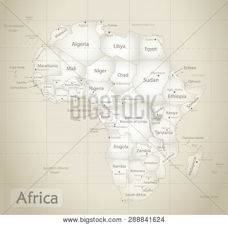 Africa Map Ancient, Vector & Photo (Free Trial) | Bigstock