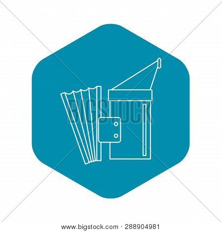 Fumigation Icon. Outline Illustration Of Fumigation Vector Icon For Web