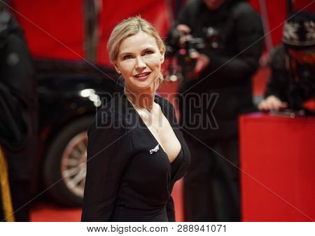 Veronica Ferres attends the opening ceremony and 'The Kindness Of Strangers' premiere during the 69th Berlinale Film Festival Berlin at Berlinale Palace on February 7, 2019 in Berlin, Germany.