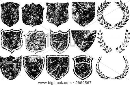 Grunge Elements For Logos