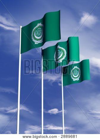 Arab League Flag