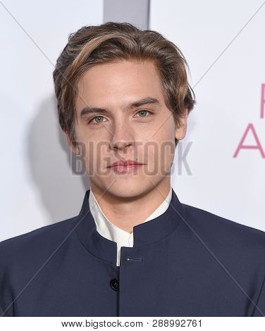 LOS ANGELES - MAR 07:  Dylan Sprouse arrives for the 'Five Feet Apart' Los Angeles Premiere on March 07, 2019 in Westwood, CA