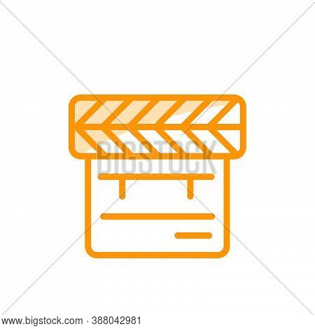 Illustration Vector Graphic Of Clapper Icon Template