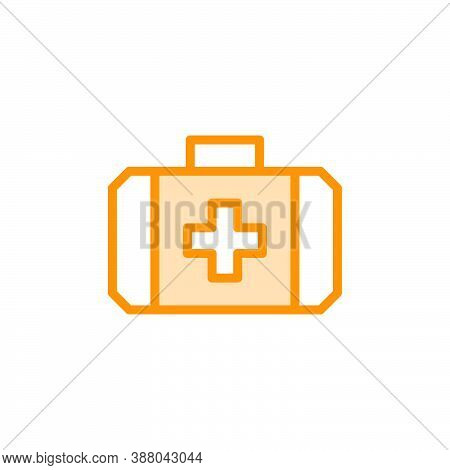 Illustration Vector Graphic Of Medical Kit Bag Icon