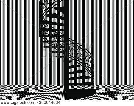 Spiral Staircase Vector 39.eps