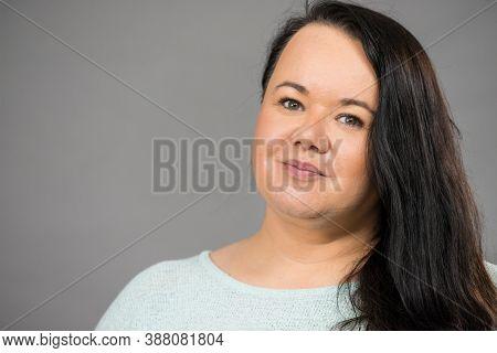Plus Size Woman Portrait