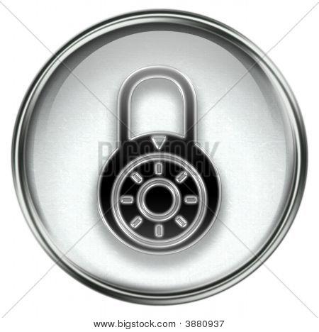 Lock Off, Icon Grey