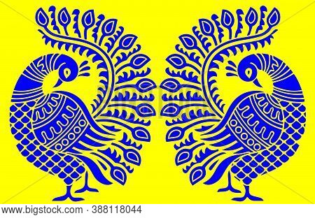 Paisley Motifs Seamless Pattern Indian Ornamentation Or Floral Pattern. It Is Also Motif And Embroid