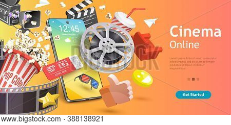 Mobile Cinema, Online Movie App, Cinematography And Filmmaking, Ticket Ordering.
