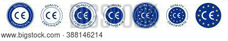 Ce Marking Is A Mark For Products Informing About Compliance With The Essential Requirements Of Dire