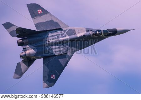 Zeltweg, Styria, Austria - September 02: One Of The Biggest Airshows In Europe Is Airpower And It Is